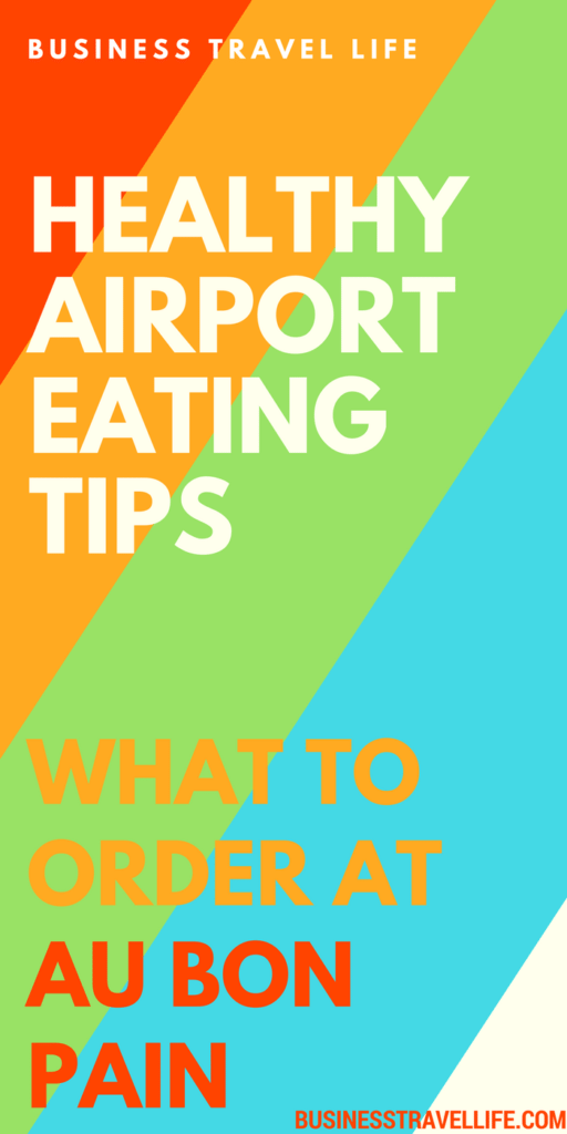 healthy airport eating business travel life