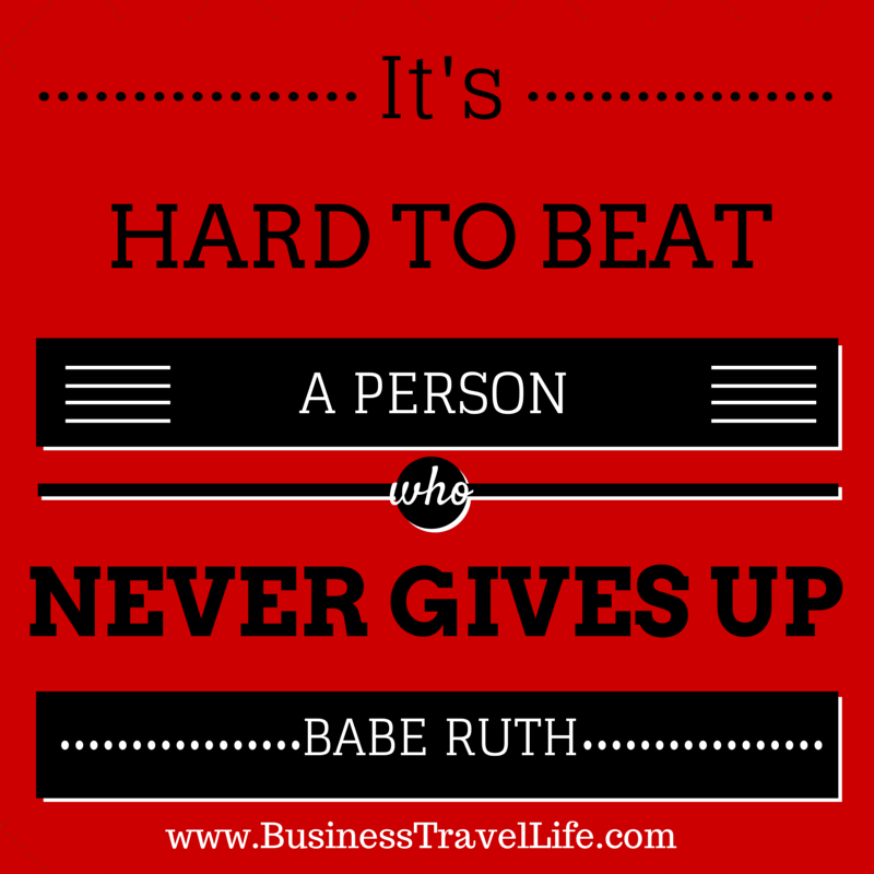 Motivational Quote Business Travel Life