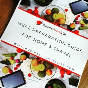 meal prep guide for travel business travel life