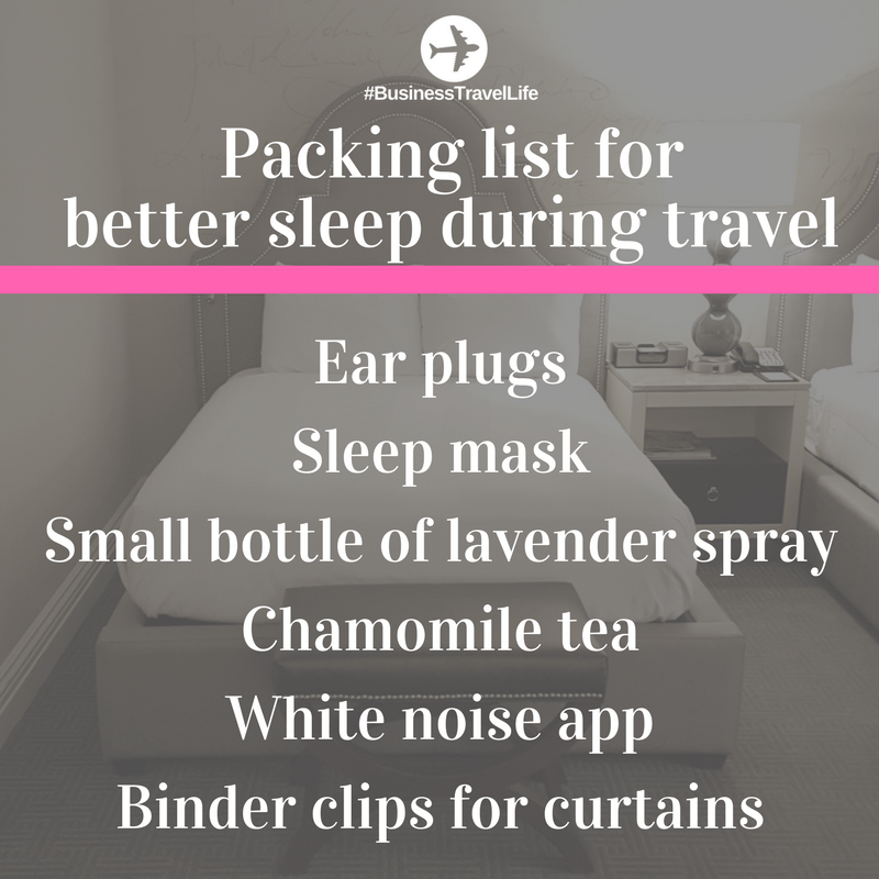 travel tips sleep hotel business travel life (1)