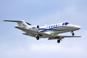 business traveler private jet