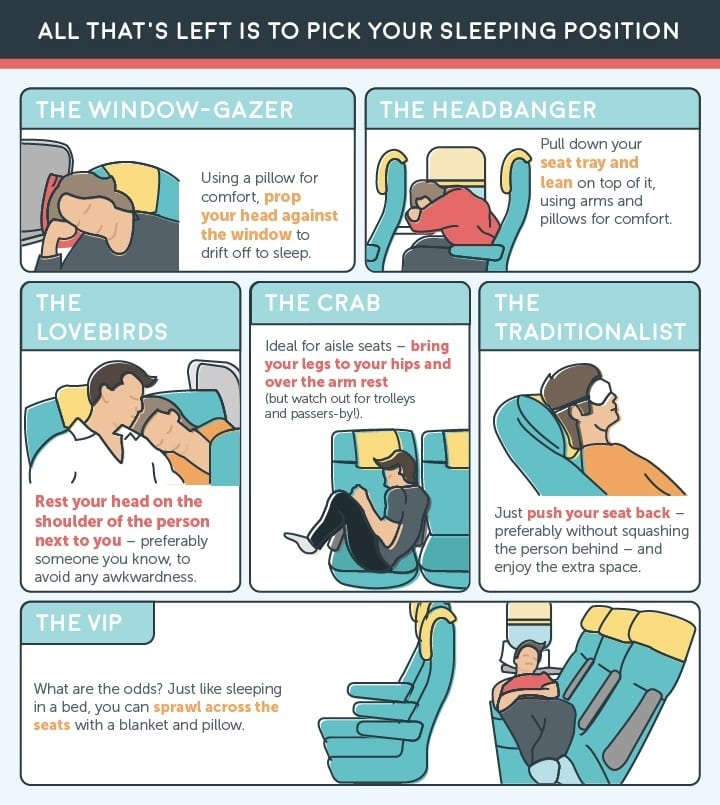 how to sleep on a plane business travel life
