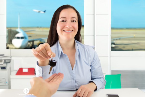 car rental tips business travel life