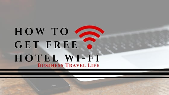 free hotel wifi business travel life header