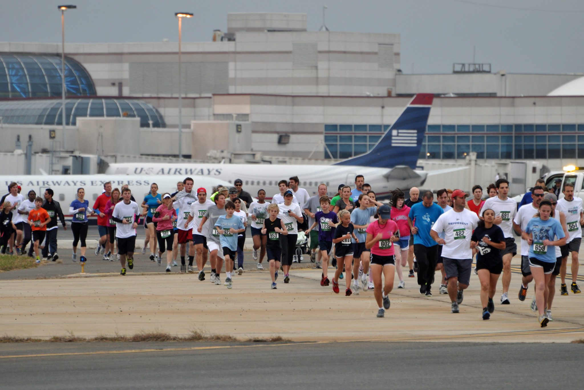 Travel Workout K On The Runway Business Travel Life - Charlotte usa airport map