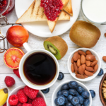eat healthy hotel breakfast business travel life