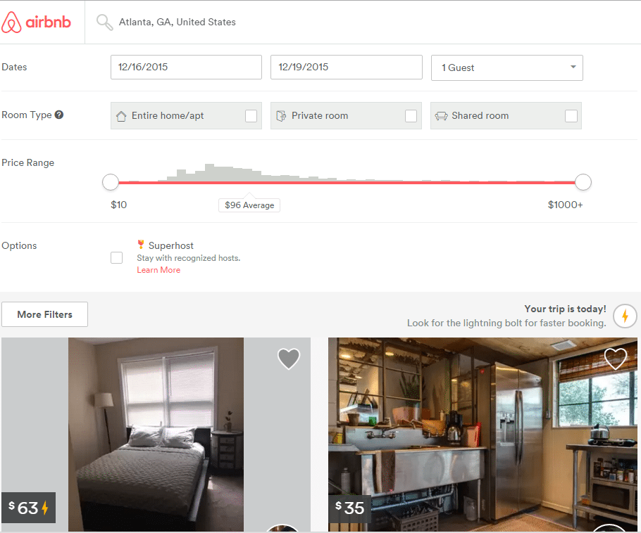 what is airbnb business travel life