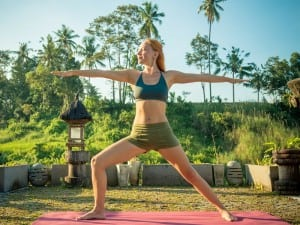 fit travel tips hotel room yoga Business Travel Life