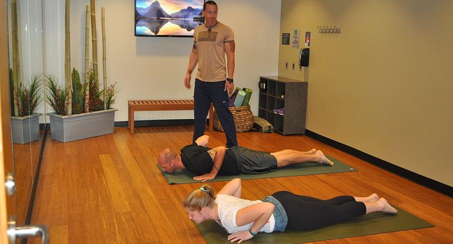 airport yoga Chicago yoga business travel life