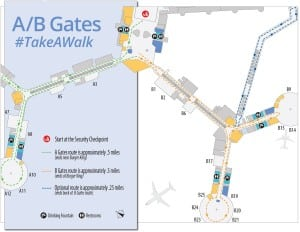 Fit Travel Las Vegas Walking Map