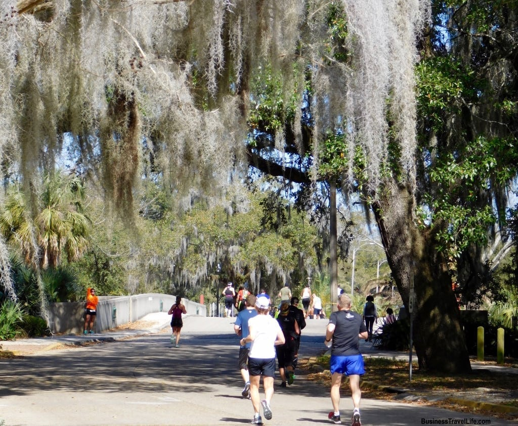 city park joggers healthy business travel guide nola