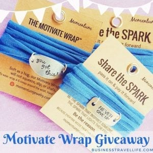 motivate wrap business travel life