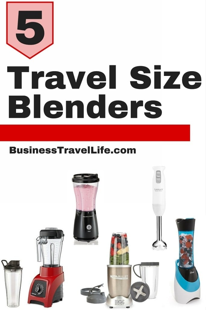 travel size blender business travel life pinterest