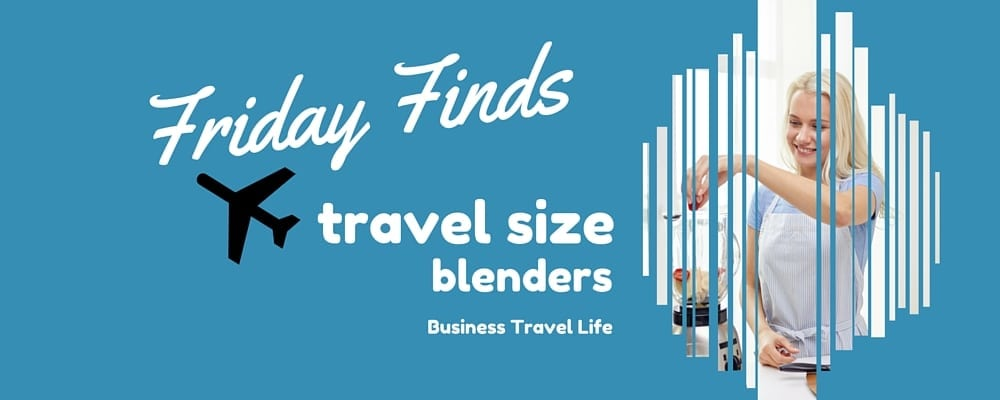 travel size blender header