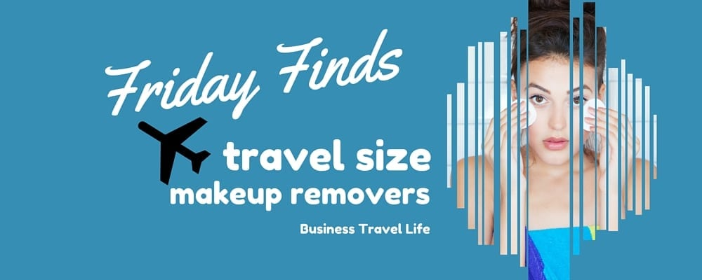 travel size makeup remover business travel life