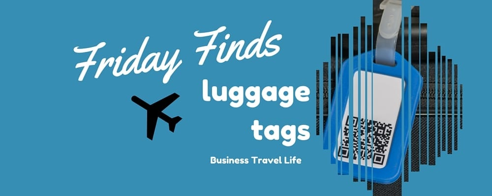 Luggage Tag business travel life header