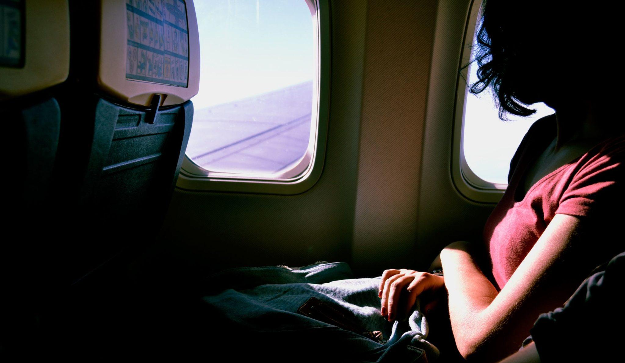 meditation plane business travel life