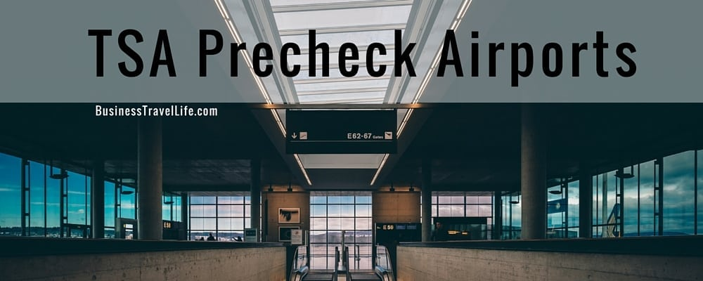 TSA Precheck locations