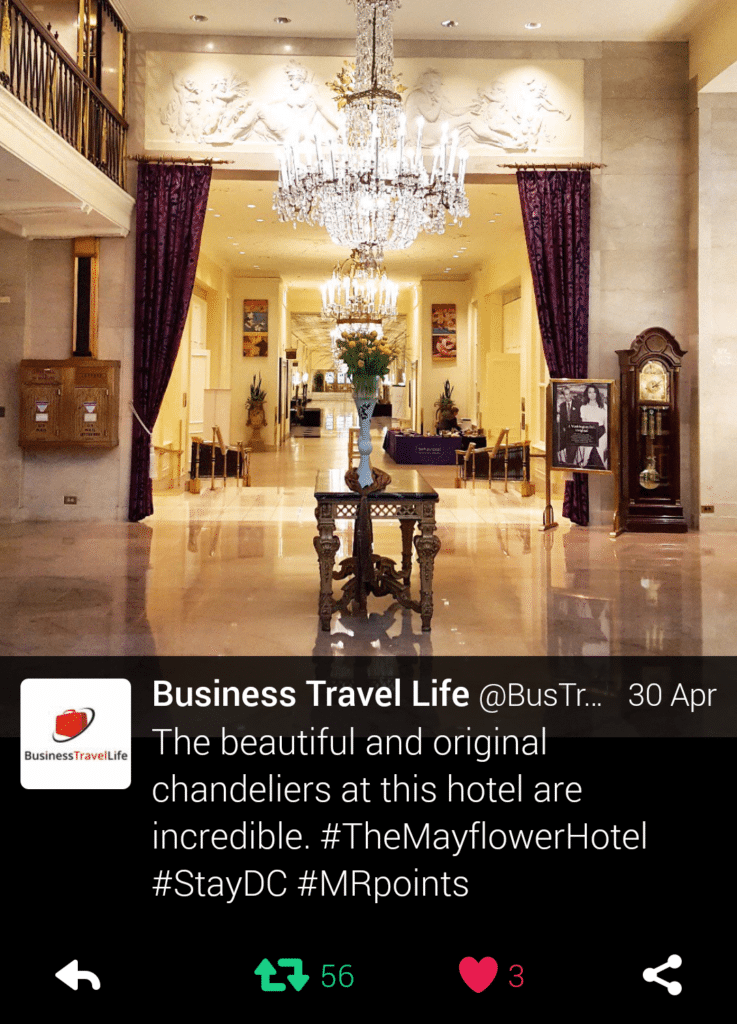 The Mayflower Hotel Business Travel Life