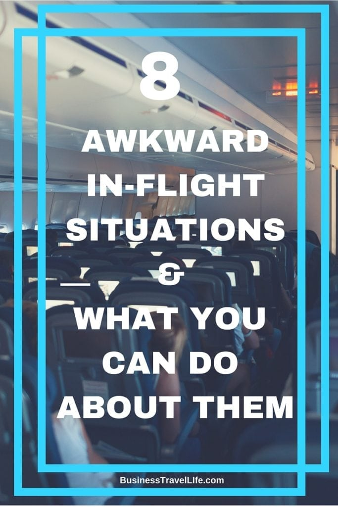airplane etiquette business travel life