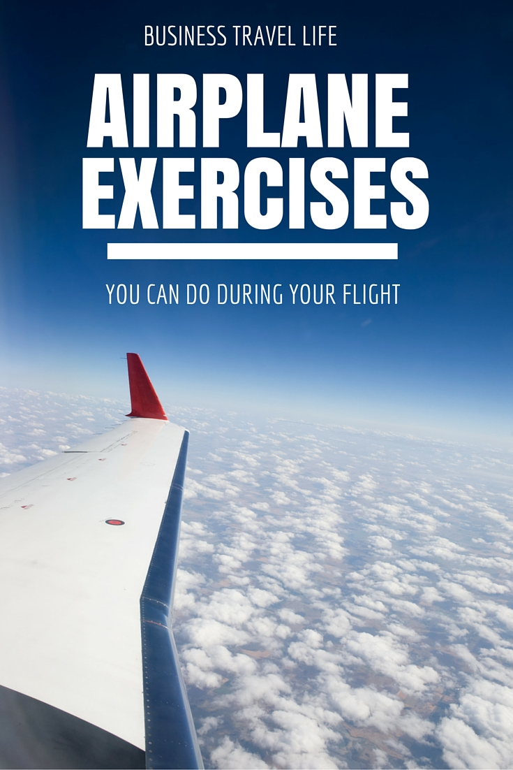 airplane exercises business travel life