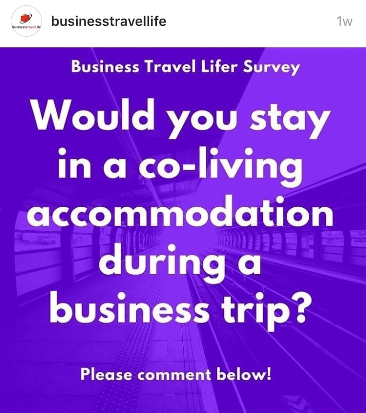 co living business travel life 4