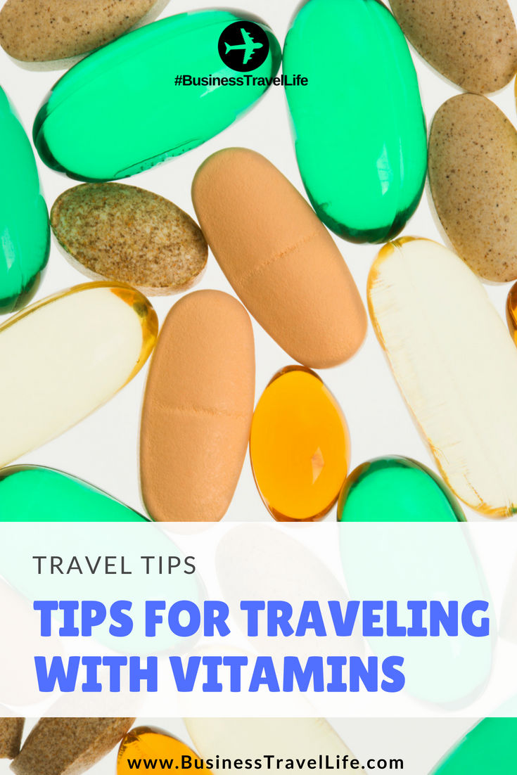 traveling with vitamins business travel life
