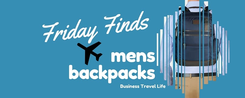 mens travel backpack business travel life