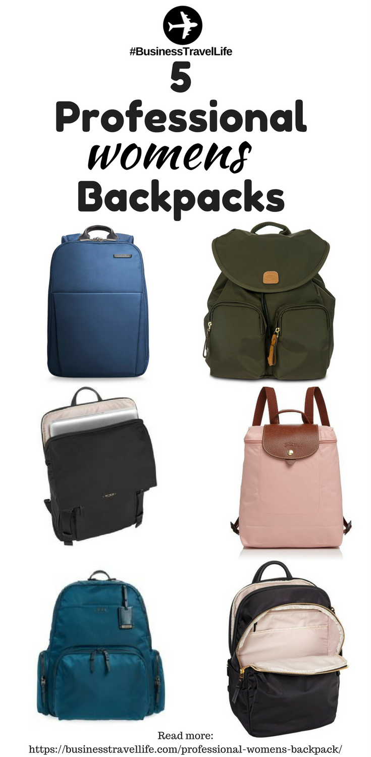 professional womens backpacks business travel life