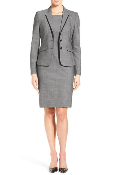 BOSS Mélange Wool Suit Set