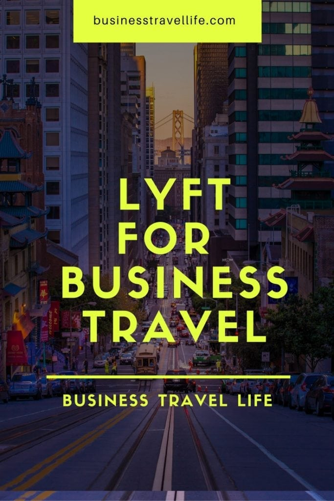 lyft for business travel