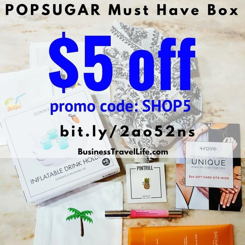 popsugar box promo code bustravellife 2