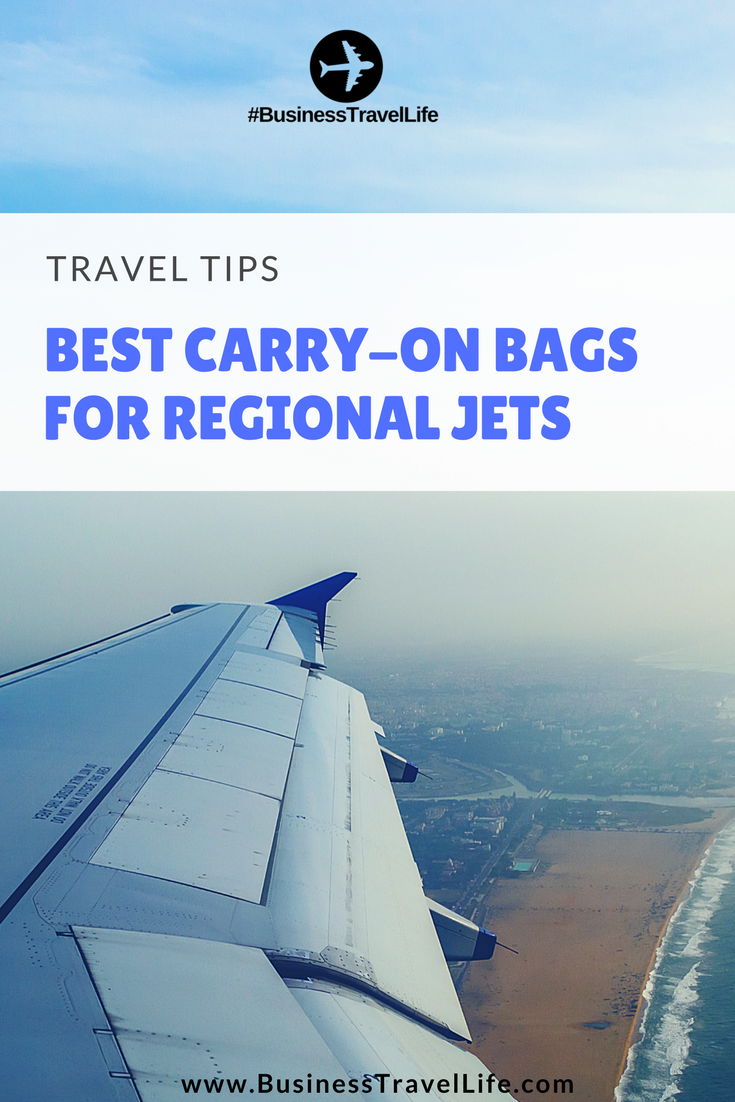 regional jet carryon business travel life pin