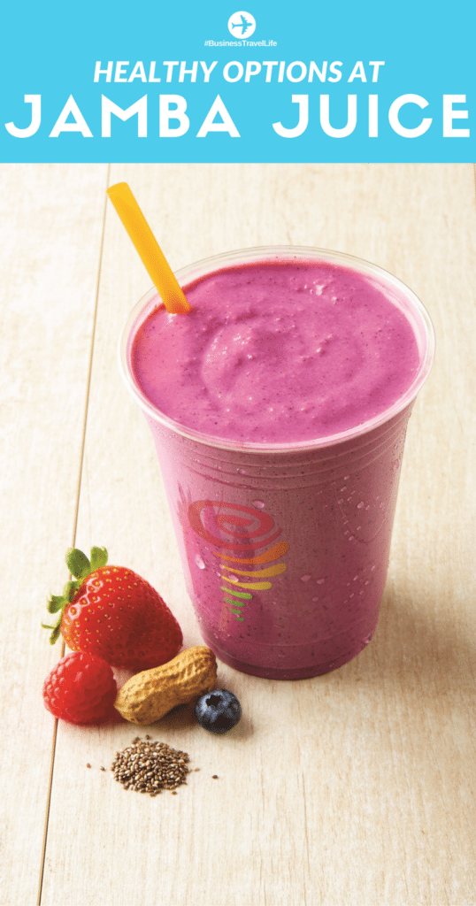 healthy option jamba juice