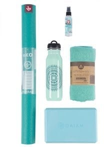 travel yoga set