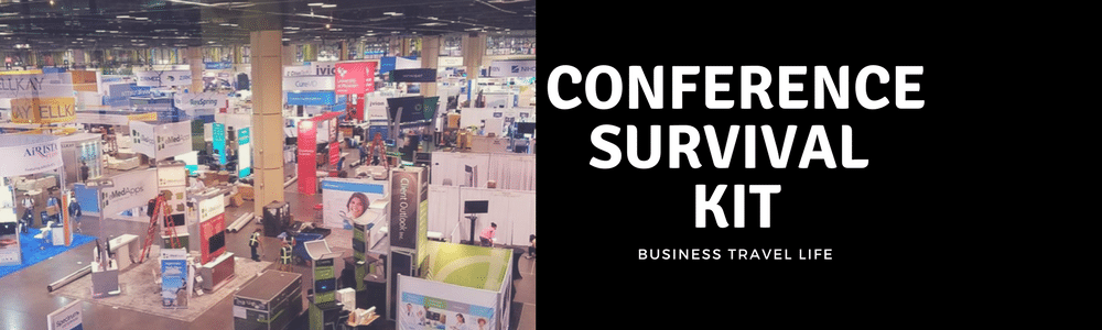 conference survival kit business travel life header 2