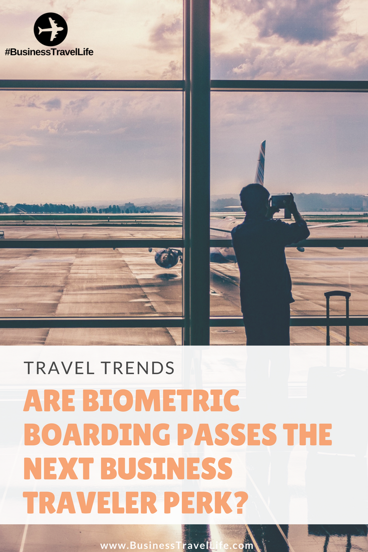 Biometric Boarding Passes Pinterest