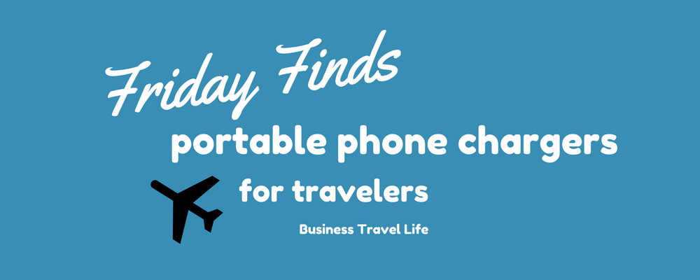 portable phone chargers business travel life