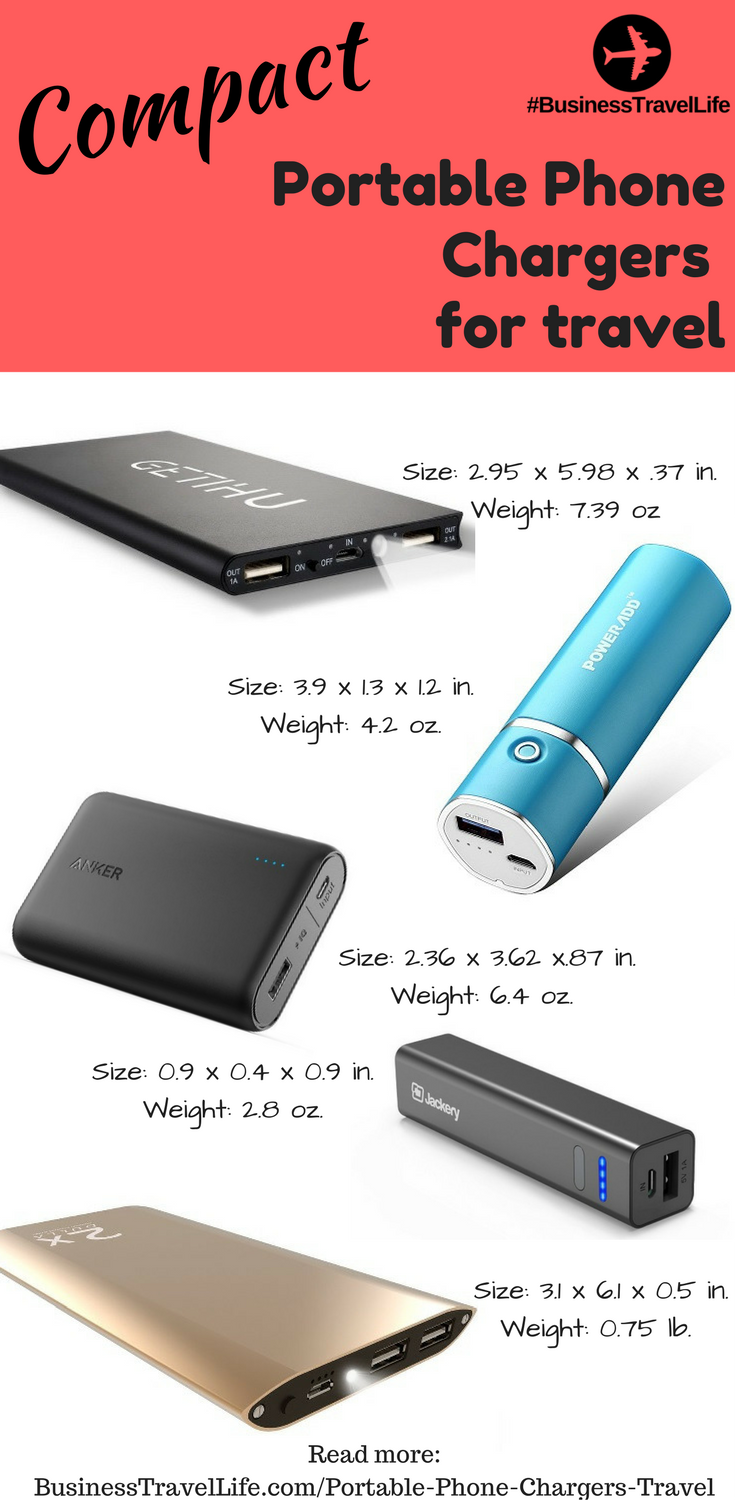 portable phone chargers travel business travel life