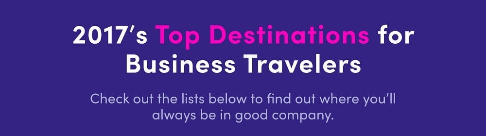 Business Travel Trends 2017