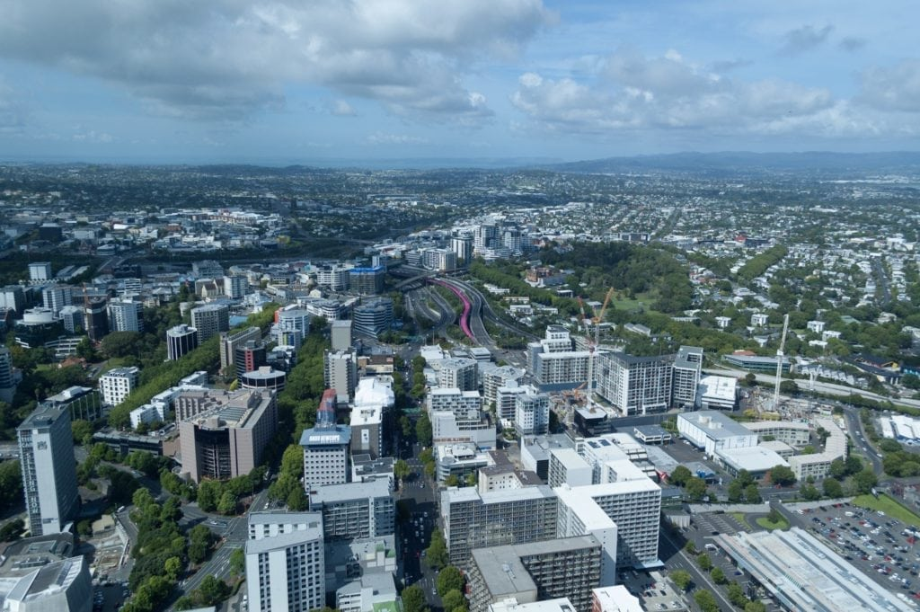 Auckland City, Pink Path, Business Travel Life