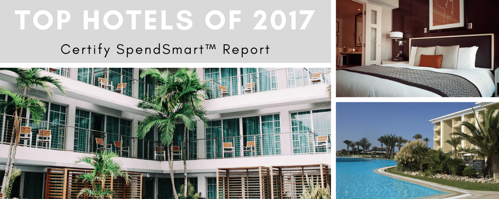 Business Travel Hotels, 2017 Certify SpendSmart™, Business Travel Life 1
