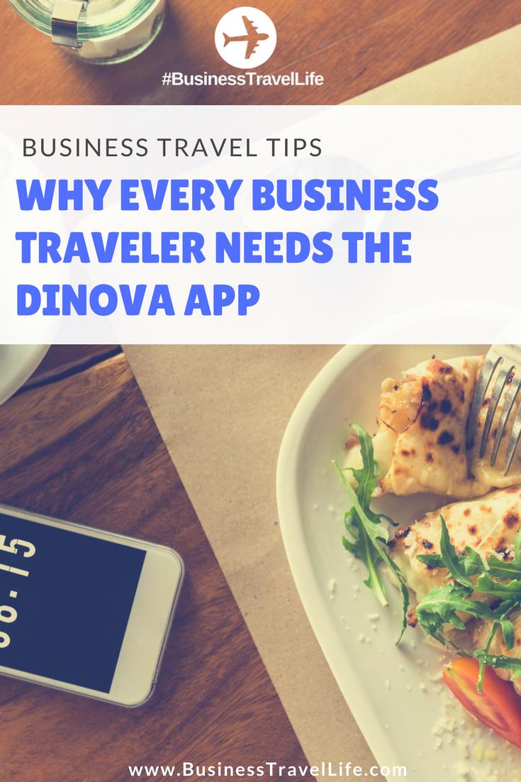 dinova app business travel life