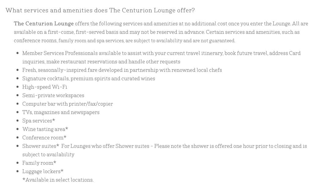 Centurion Lounge, Business Travel Life 1