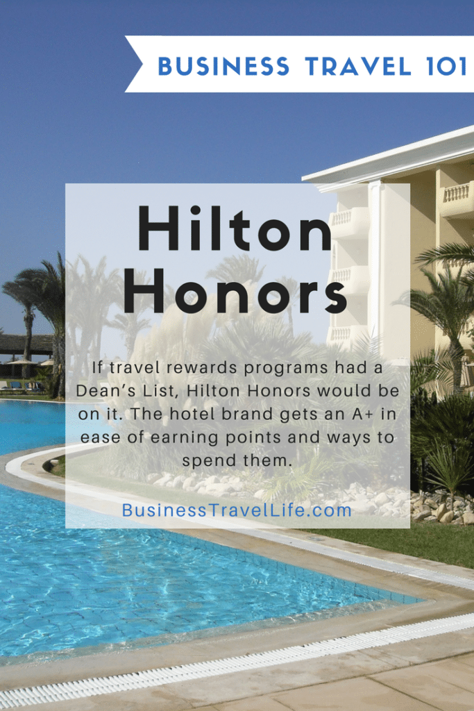 Hilton Honors, Business Travel Life, Pinterest 1