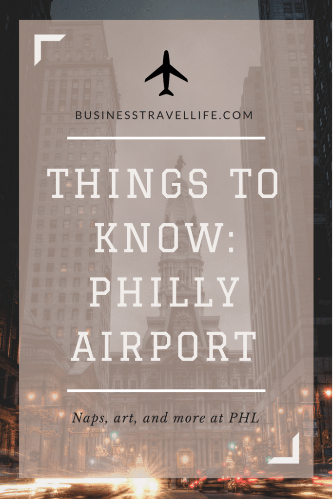 Philly airport, business travel life 2