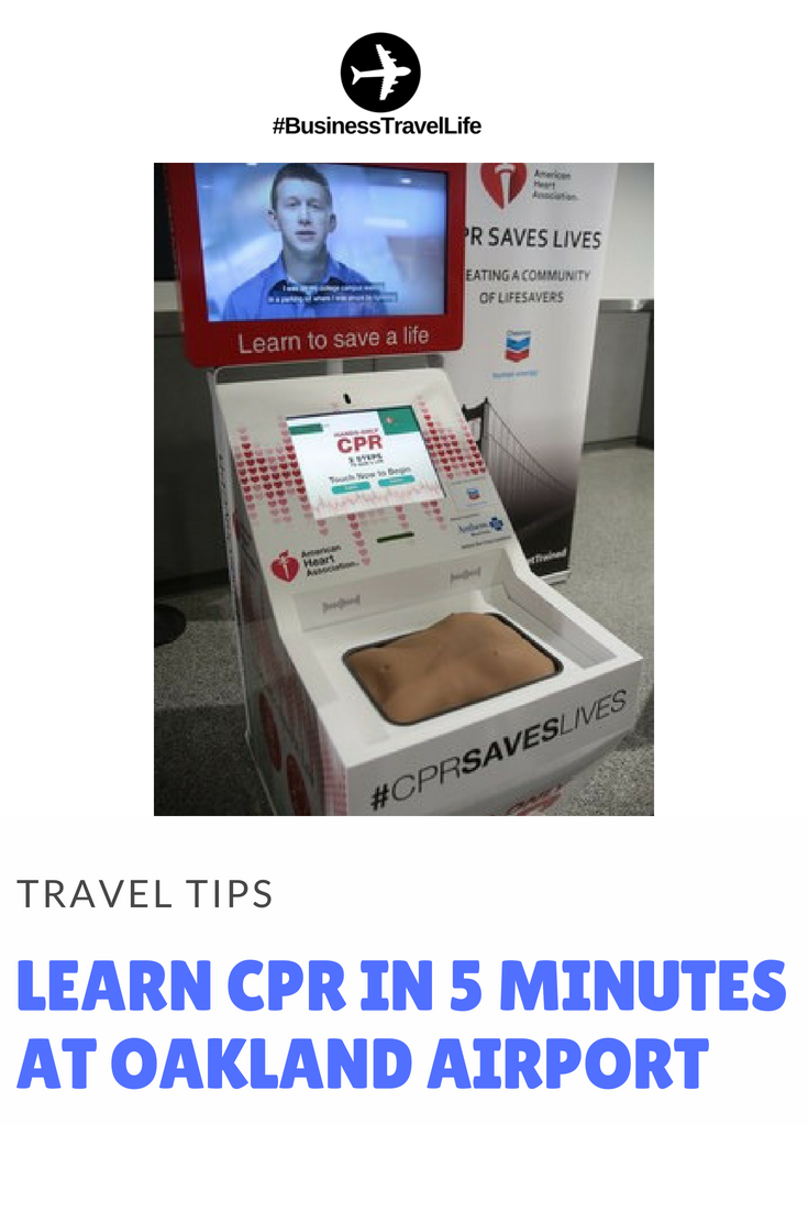 Oakland International Airport CPR Kiosk (1)