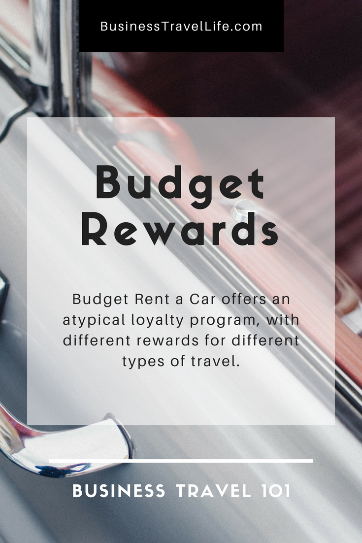 Budget rewards, business travel life 2