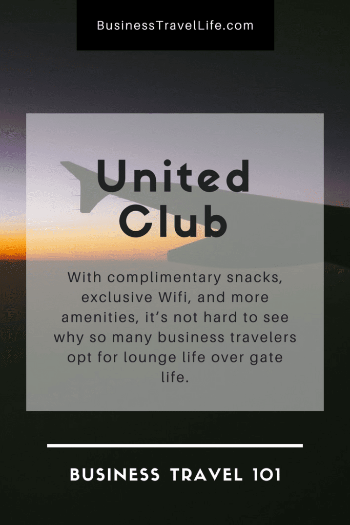 United Club, Business Travel Life 2