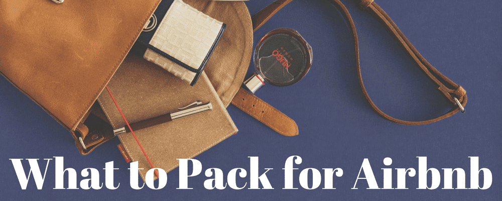 What to Pack for Airbnb, Business Travel Life 1